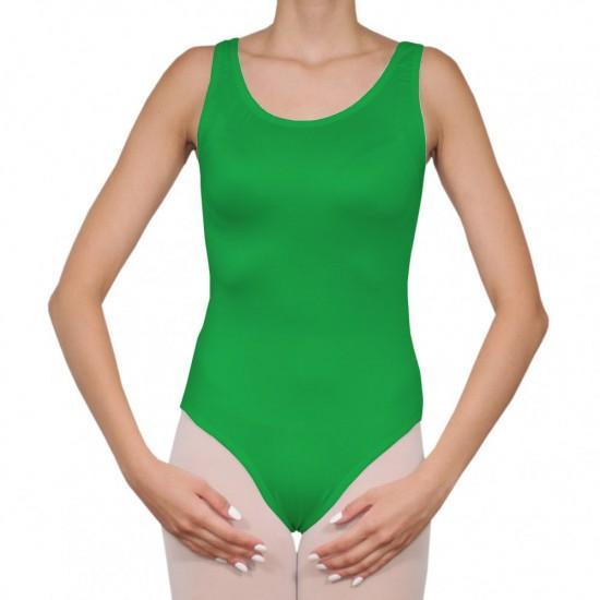 Κορμάκι μπαλέτου γυναικείο με τιράντα πράσινο